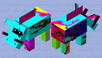 cerdo encantador Minecraft Mob Skin