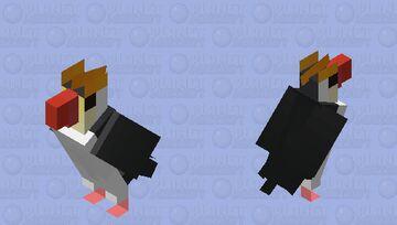 Pinguim-real (Eudyptes schlegeli) Minecraft Mob Skin