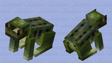 Grass Frog Minecraft Mob Skin