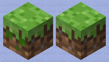 Grass-Block Slime Minecraft Mob Skin