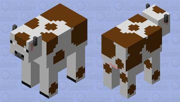 Cow #2 Minecraft Mob Skin