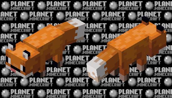 Derpy fox Minecraft Skin
