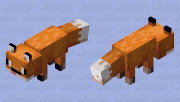 Derpy fox Minecraft Mob Skin