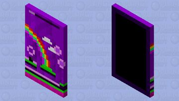 Geometry dash: Geometrical Dominator Minecraft Mob Skin