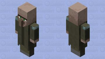 child of an pillager and villager Minecraft Mob Skin