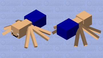 man spider Minecraft Mob Skin