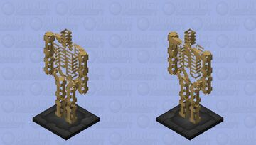 Headless Skeleton of The Last Player You Killed And Now Conveniently Use As A Coat Rack....Savage Minecraft Mob Skin
