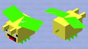 Idk I I think it's a pineapple bee Minecraft Mob Skin