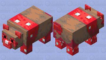 Mush panda edit. Minecraft Mob Skin