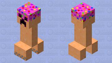 cake creeper Minecraft Mob Skin