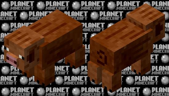 Duroc pig Minecraft Skin