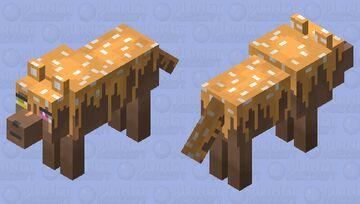 ✧・゚: *✧・゚:* Sweet Wolf *:・゚✧*:・゚✧ Minecraft Mob Skin