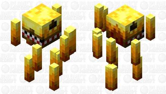 Prehistoric Blaze. (Dark Minecraft. Dino) Minecraft Skin