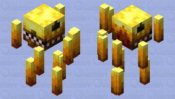 Prehistoric Blaze. (Dark Minecraft. Dino) Minecraft Mob Skin