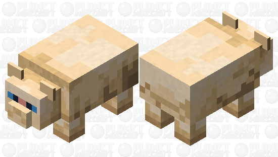 Roly-Poly Persian Minecraft Skin