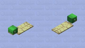 this is a snail now // 𝓵𝓲𝓵𝔂 𝓫 Minecraft Mob Skin