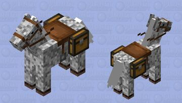 Zeus The Thunder Horse Minecraft Mob Skin