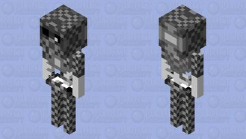 Skeleton stone Minecraft Mob Skin
