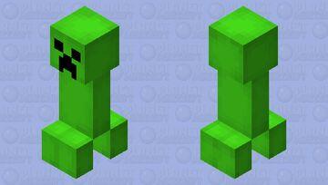 The Creeper - Reimagined Minecraft Mob Skin