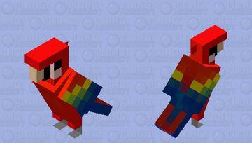 Parrot_red_blue remake Minecraft Mob Skin
