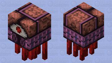 Semi-Organic Ghastly Fiend Minecraft Mob Skin