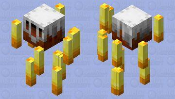 Better blaze FINALLY Minecraft Mob Skin