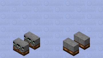 Mini Exprosive Raider Horde Minecraft Mob Skin
