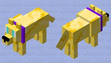 Golden Retriever (Request from Lunar_cat) Minecraft Mob Skin