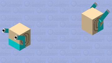 Gary the snail Minecraft Mob Skin