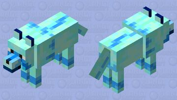 Blueberry Dog Minecraft Mob Skin