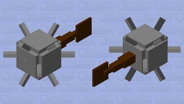 Spike ball on a stick Minecraft Mob Skin
