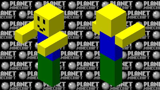 Roblox NOOB Minecraft Skin