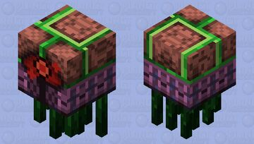 【Shooting Ver.】Semi-Organic Ghastly Fiend Minecraft Mob Skin
