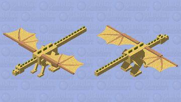 Sunrise (Wings of fire dragonet) Minecraft Mob Skin