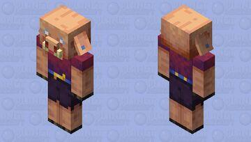 Female piglin Minecraft Mob Skin