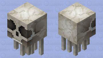 Bone Ghast Minecraft Mob Skin