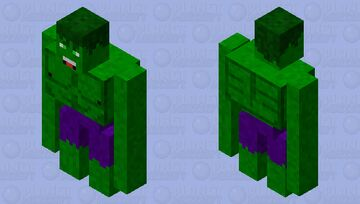 Golem Hulk Minecraft Mob Skin