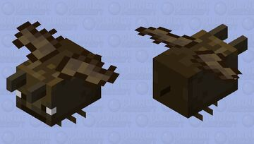 Fat Bat Minecraft Mob Skin