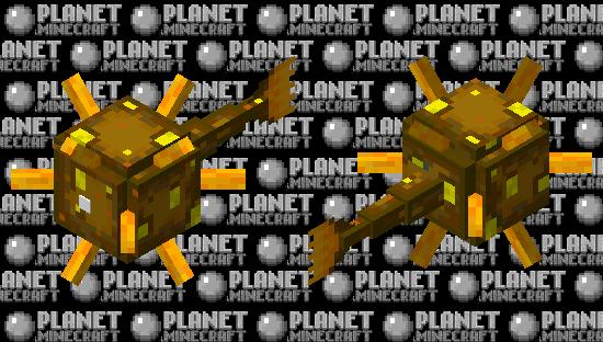 Glow Elder Guardian Minecraft Skin