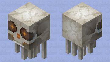 Bone Ghast (Firing) Minecraft Mob Skin