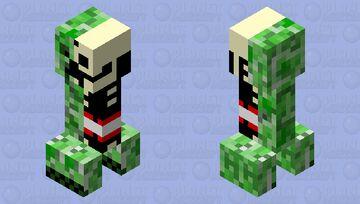 Creeper Anatomy Minecraft Mob Skin