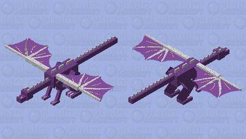 Moonlight (Wings of fire dragonet) Minecraft Mob Skin