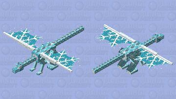 Yr'ith the Frost Dragon Minecraft Mob Skin