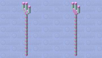 🍬 Cotton Candy Trident 🍬 Minecraft Mob Skin
