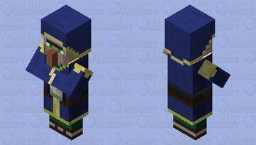 Programmer Art Wandering Trader Minecraft Mob Skin