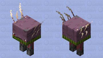 Scarved Strider 3 Minecraft Mob Skin