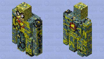 GOLEM with hole inside Minecraft Mob Skin