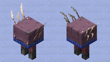 Scarved Strider 4 Minecraft Mob Skin