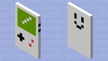 Gameboy Cape Minecraft Mob Skin