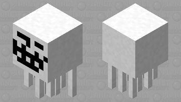 Trollface/Popbob Ghast Minecraft Mob Skin